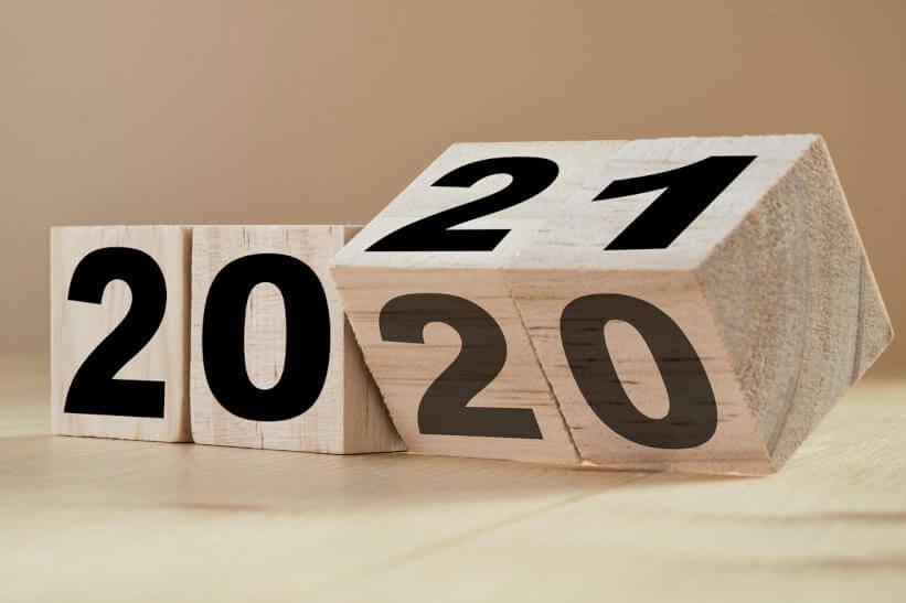 Mudança de 2020 para 2021 - Venda mais em 2021